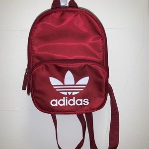 SMALL ADIDAS Red backpack